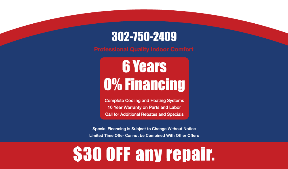 Miller Heating & Cooling Summer  Special
